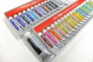 【すいどーばたオリジナル】透明水彩絵具 基本37色セット