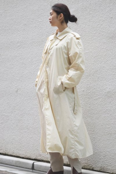 AMOMENTO / LIGHT TRENCH COAT / BEIGE