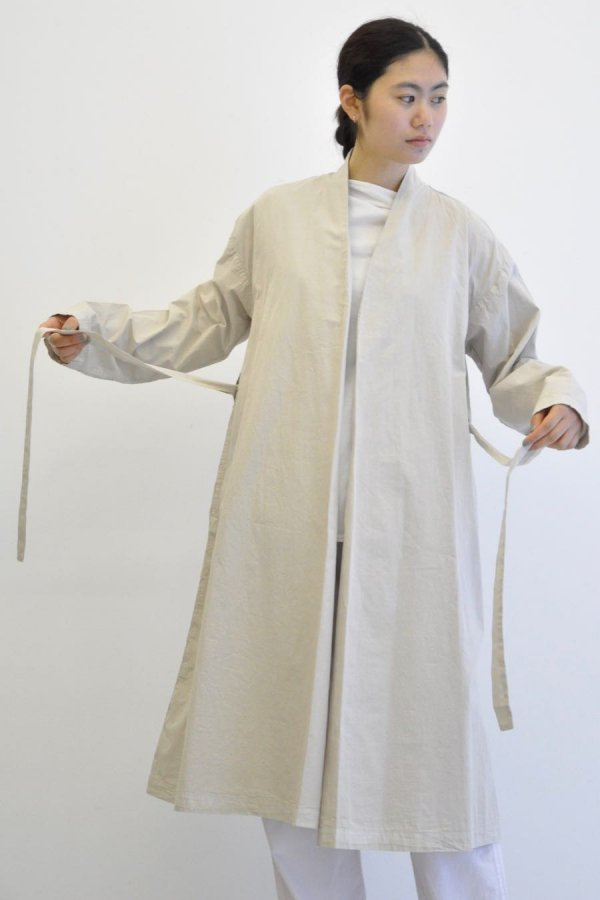 COSMIC WONDER / BEAUTIFUL ORGANIC COTTON HAORI ROBE / ANCIENT CLAY