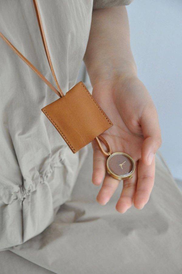 NEJICOMMU / HEART BEAT (NECKLACE L)/ GOLD.BROWN (CASE/STRAP)
