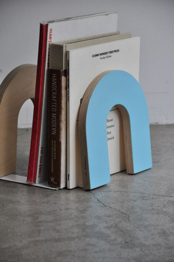 WAKA WAKA / BOOKEND ARCH / TURQUOISE & LIME GREEN