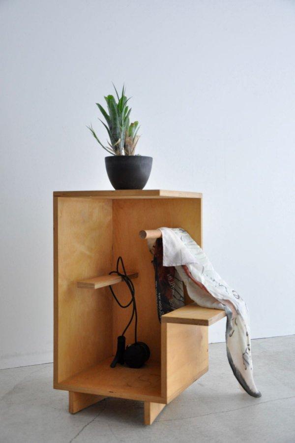 WAKA WAKA / OPEN BOX WITH DOWEL / NATURAL