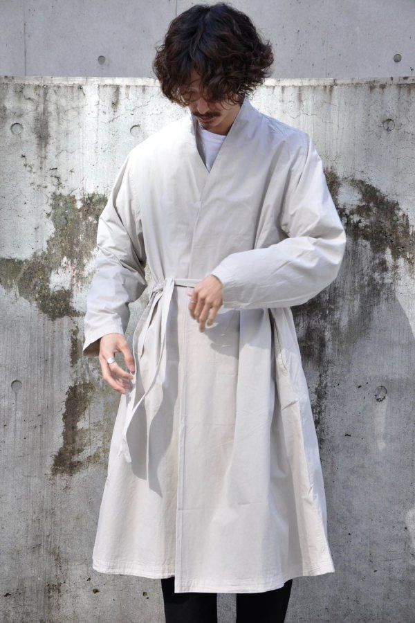COSMIC WONDER / Beautiful Organic cottonhaori robe / Sand