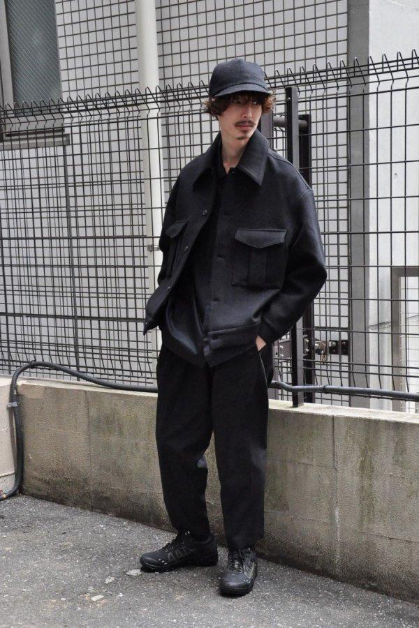 LOWNN / Military Jacket / BLACK