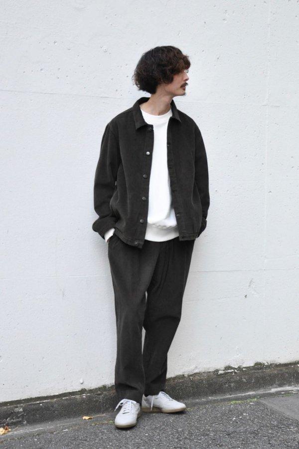 OFTT / CORDUROY JACKET / GREEN