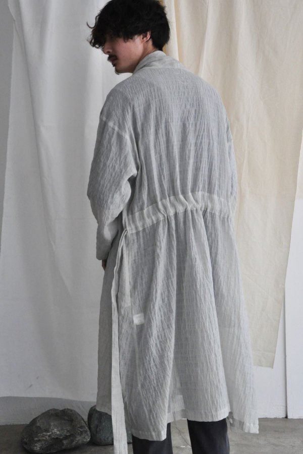 COSMIC WONDER / Celestial haori robe / Gray