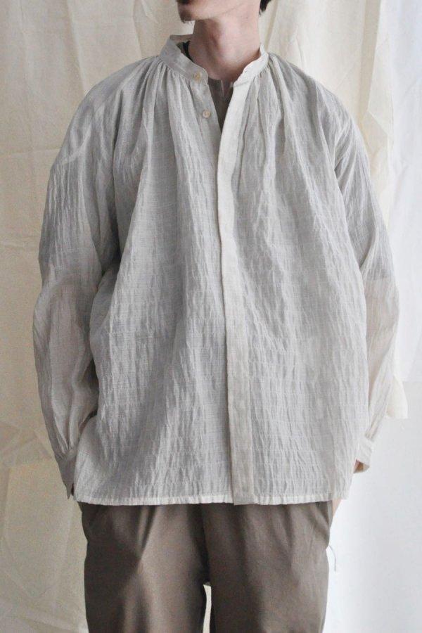 COSMIC WONDER / Celestial farmer shirt / Natural