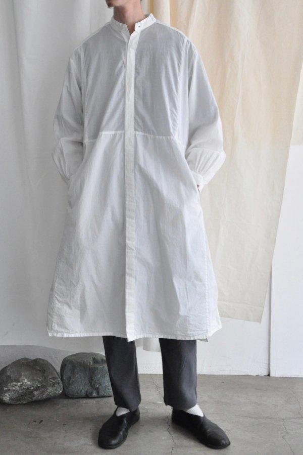 COSMIC WONDER / Farmer Shirt dress / White