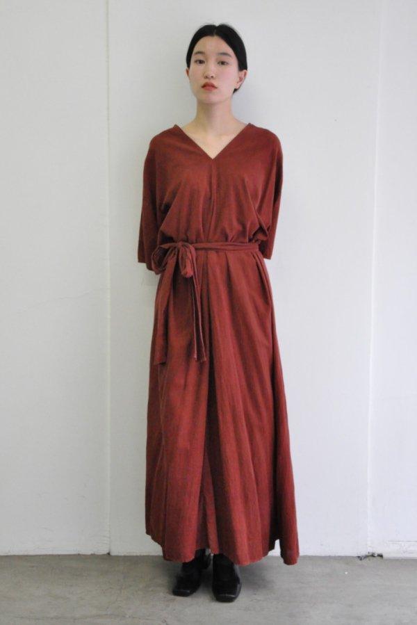 COSMIC WONDER / Farmer shirt dress / PLUM