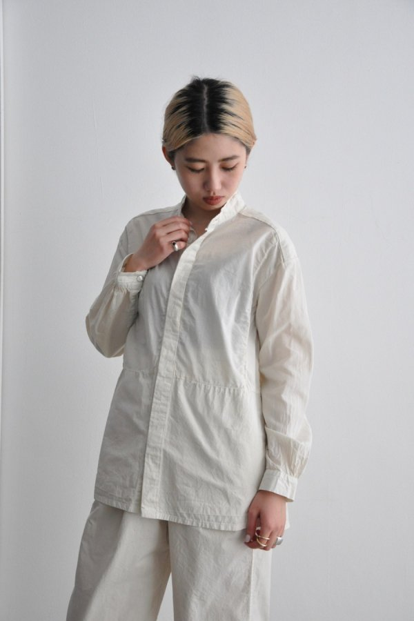 COSMIC WONDER / Farmer shirt / LIGHT LILY