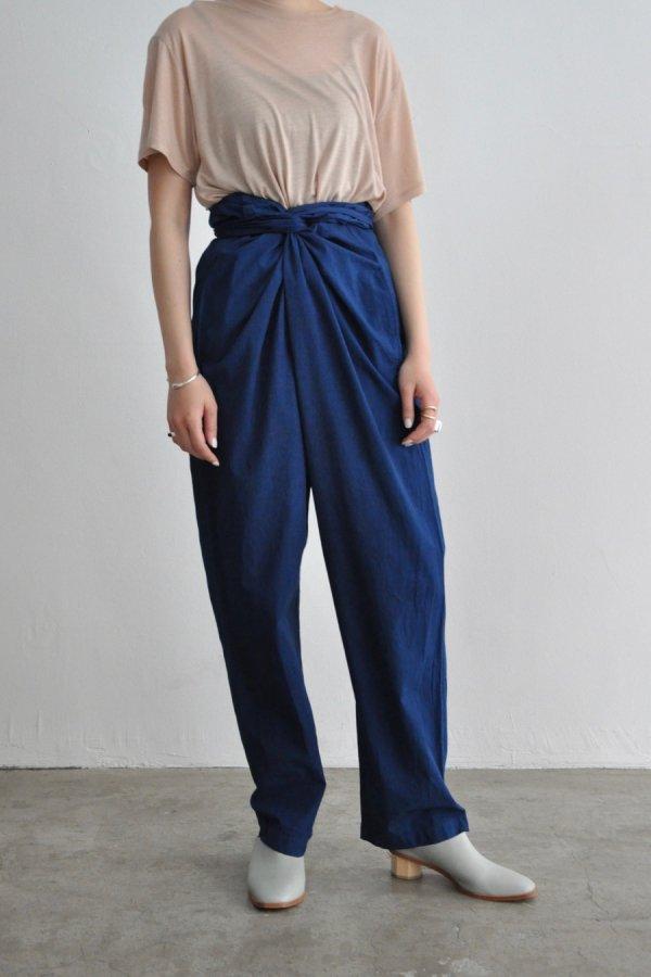 COSMIC WONDER /  Wrapped pants / RYUKYU INDIGO