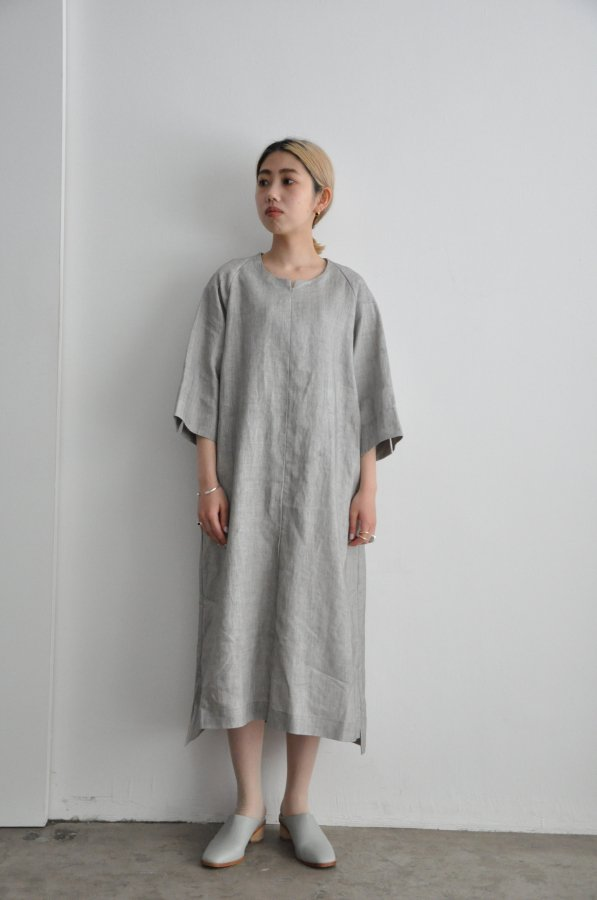 COSMIC WONDER / Sumizome smock dress / LIGHT SUMIKURO