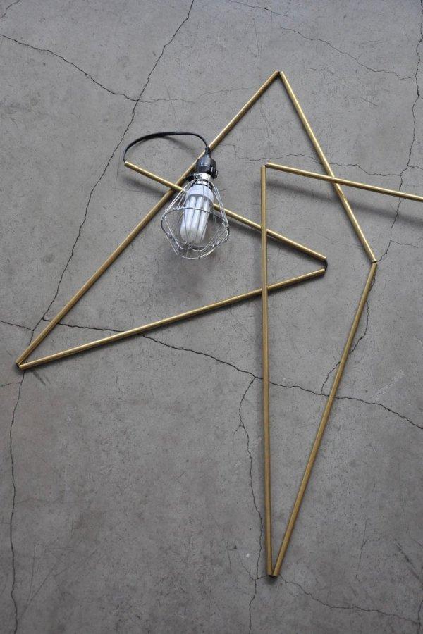 BLESS / BRASS STICK LIGHT BULB / BRASS