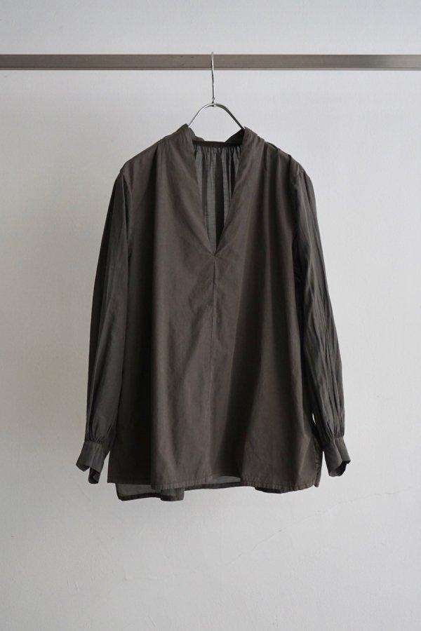 COSMIC WONDER / Celestial farmer shirt dress / Gray