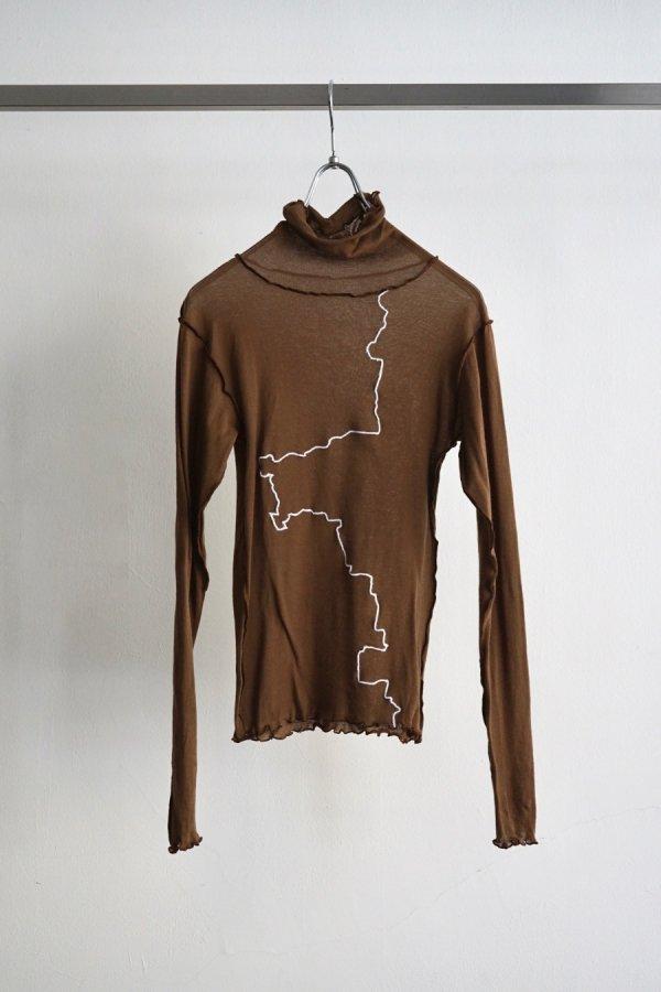COSMIC WONDER / Wrapped short sleeves dress / VIOLET ASH
