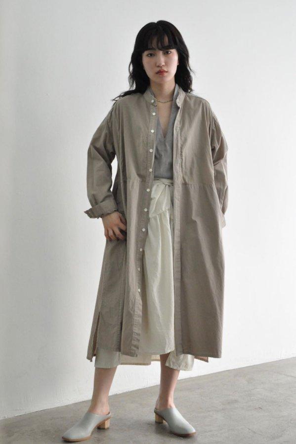 COSMIC WONDER / Farmer shirt dress / EARTHENWARE