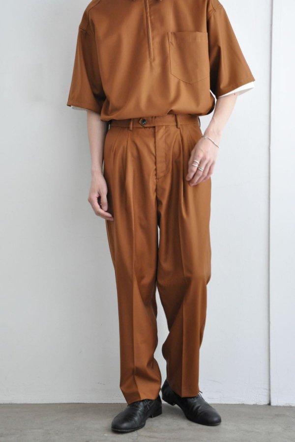 LOWNN / Wide Pants / Brown Tabacco