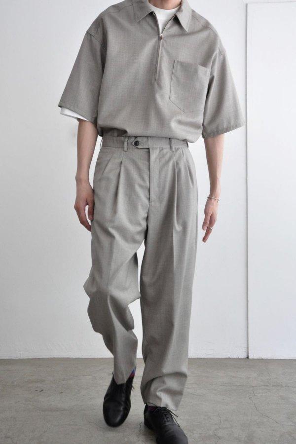 LOWNN / Wide Pants / Greige