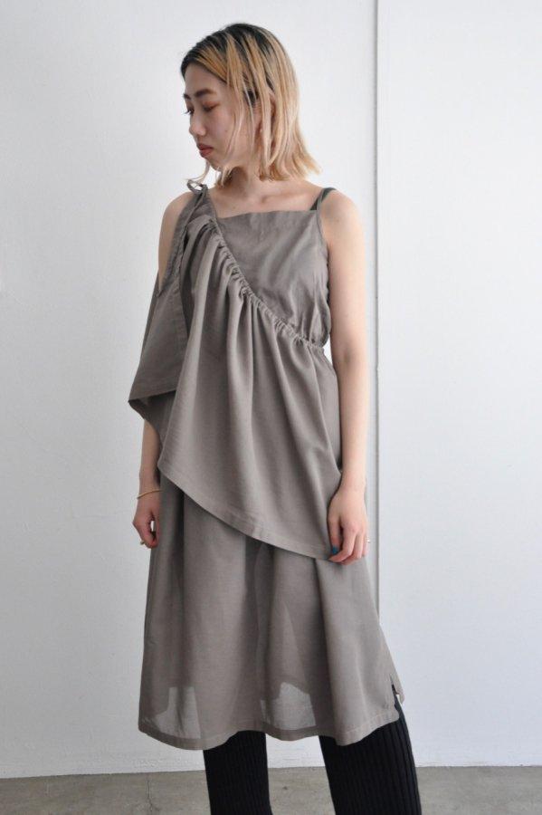 BELPER / DOCKING DRESS / BROWN