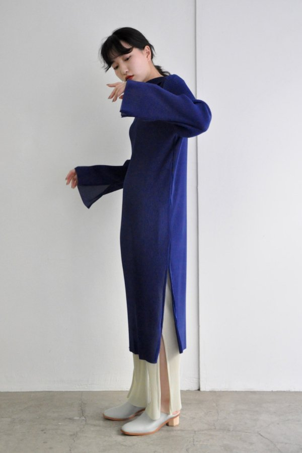 JENS / UNDER PULLOVER DRESS / PLAIN BLUE