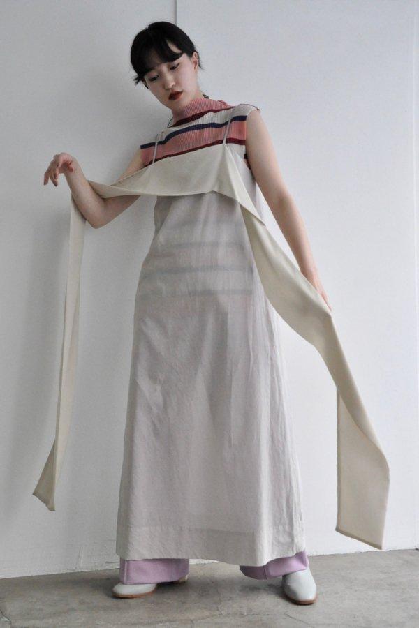 JENS / STOLE DRESS / NATURAL