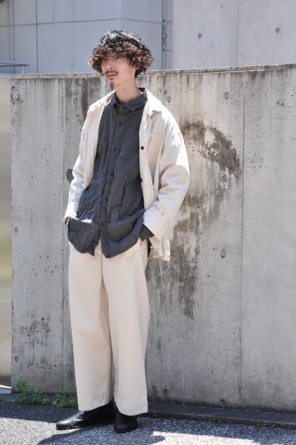 YOKO SAKAMOTO / WORK JACKET / ECRU