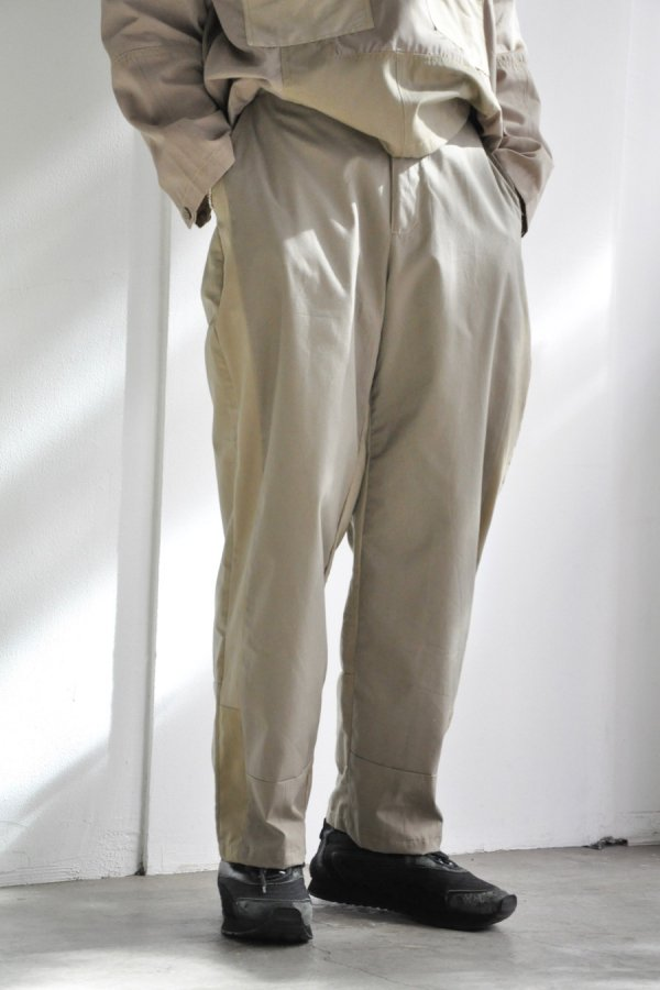 SEEALL  / RECONSTRUCTED TRENCH PANTS / MIX