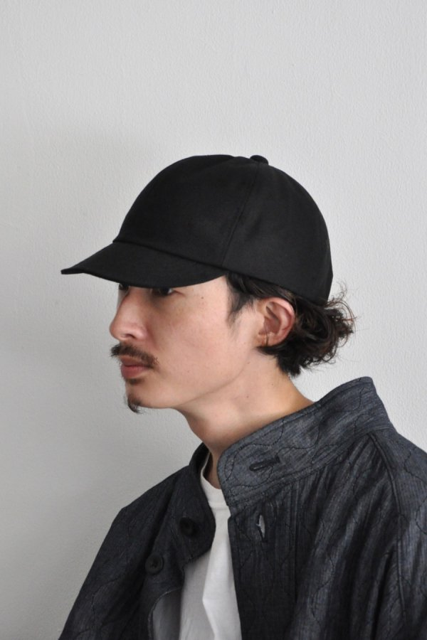 Nine tailor / Lymington Cap / CANVAS BLACK