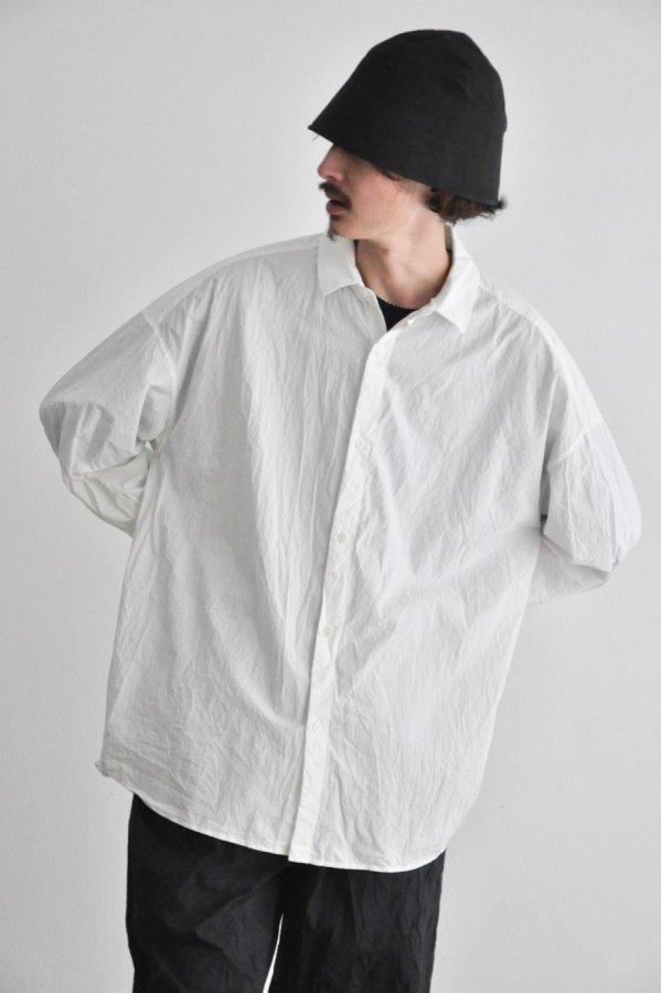 YOKO SAKAMOTO / REGULAR COLLAR SHIRT / WHITE