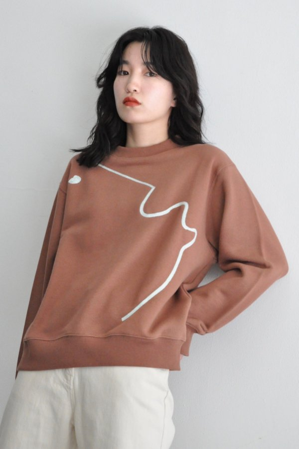 KLOKE / 15H51 EMBROIDERED SWEATER / COCO
