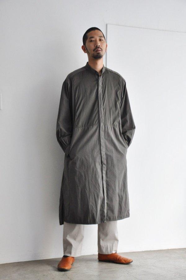 COSMIC WONDER / Farmer Shirt dress / Ancient soot