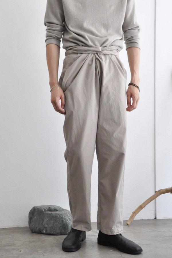 COSMIC WONDER / Wrapped pants / Earthnware