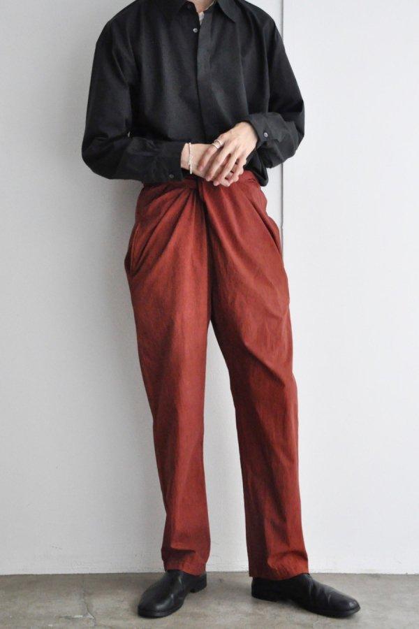 COSMIC WONDER / Wrapped pants / Rose soil