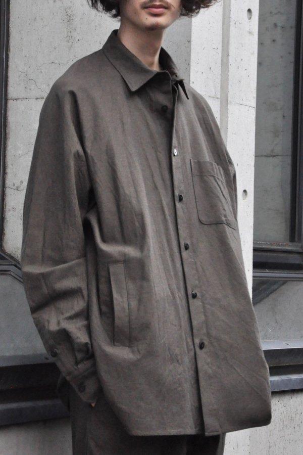 YOKO SAKAMOTO / ATELIER SHIRT / BLACK