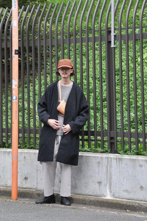 YOKO SAKAMOTO / OVER COAT / BLACK