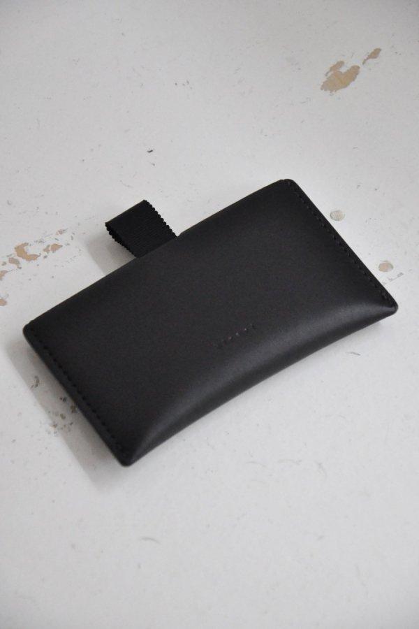 hirari / CARD CASE / BLACK