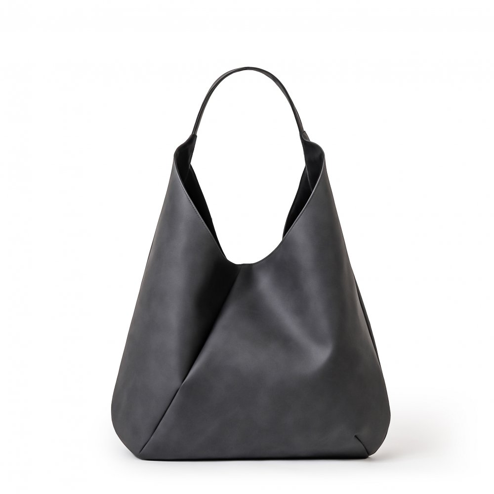 SUSTAINABLE LEATHER ONE SHOULDER