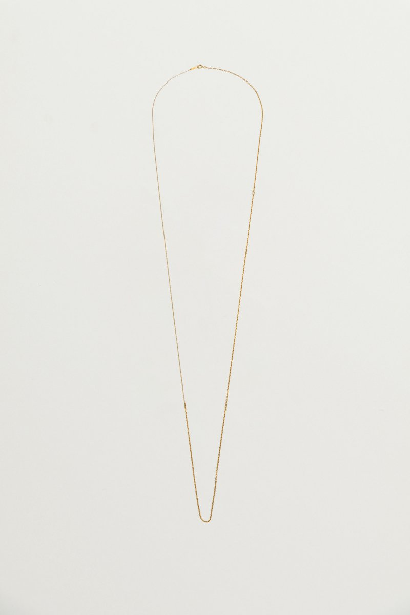 Mix chain necklace(gold)