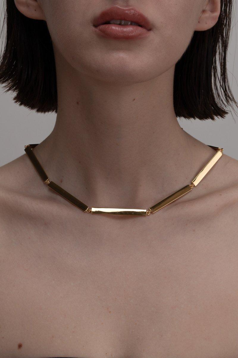 Stick chaine necklace