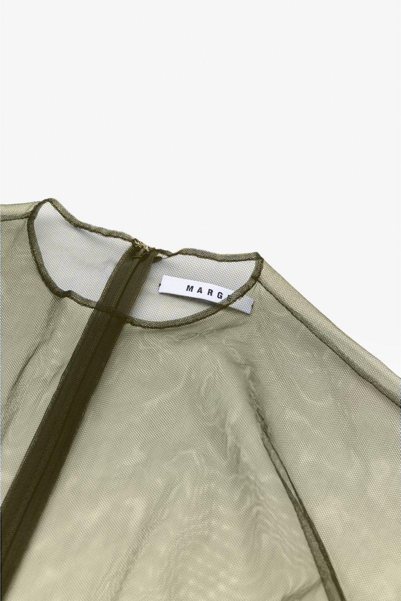 Tulle french sleeve p/o (Khaki)