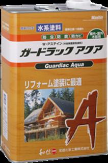 ガードラック アクア【3.5Kg】A-4 マホガニー