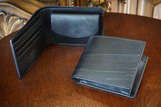"""二つ折り財布 """"英国王室御用達 ブライドルレザー"""""""
