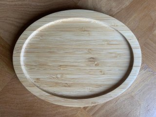 鍋敷き用楕円トレイ(小)【tray-small-ellipse】
