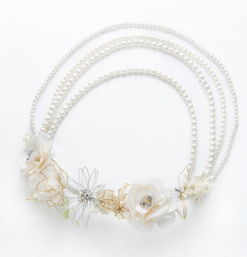 GARDEN HEAD DRESS&NECKLACE