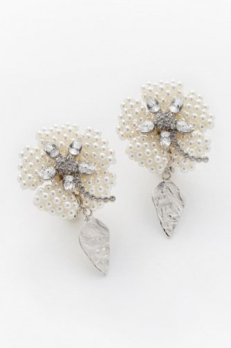 parterre earrings silver