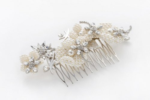 parterre headdress silver
