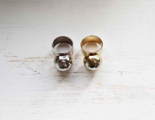 marimo silver ring