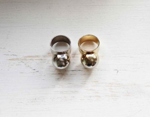 marimo gold ring