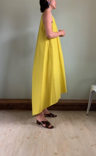 broad one-piece-lime yellow-