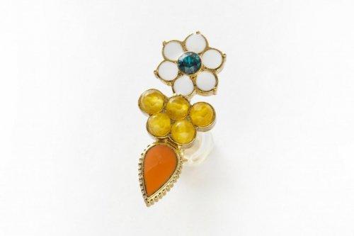 earclip-flower yellow-